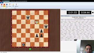 Chess Fritz 15 PC Edition Friend Mode Gameplay # 1