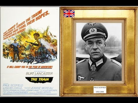 PAUL SCOFIELD 1922-2008 (the train) 1964