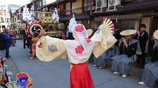 日吉神社大神楽舞 2018
