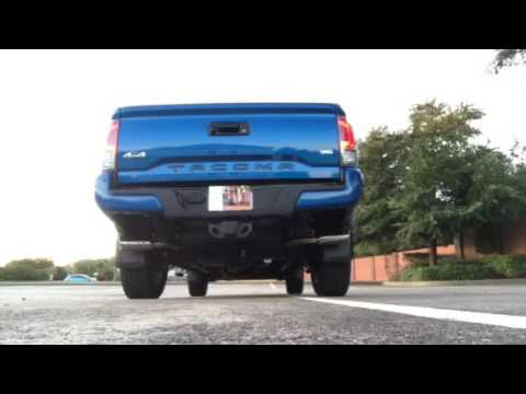 Toyota Tacoma Trd Off Road >> MBRP Exhaust S5340409 for 2016 Toyota Tacoma 3.5 - YouTube