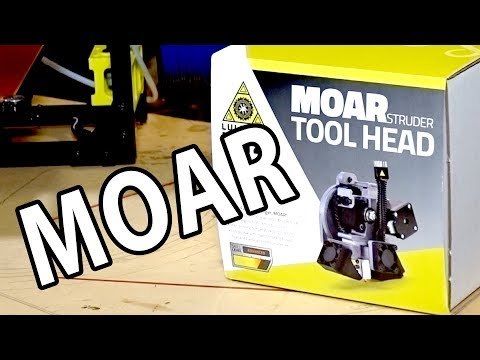 3D Printing with the Lulzbot MOARstruder on the TAZ 6 3D Printer