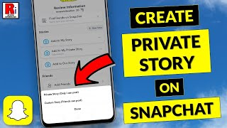 How to Create Private Story on Snapchat (Updated 2020)
