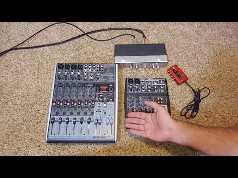 Behringer Xenyx X1204USB vs Xenyx 802 for home use. Which is a better value?
