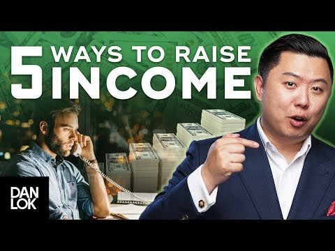 5 Ways To Increase Your Income