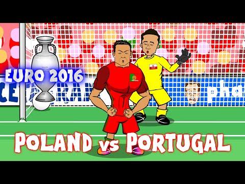 Cristiano Ronaldo sings HURT (Poland vs Portugal Parody Highlights Penalties 1-1)(Ronaldo misses)