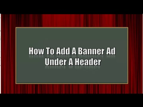 thesis affiliate banner Here's how to use hooks in thesis to display relevant ads to your how to display relevant advertisements on posts affiliate link and banner url each time.