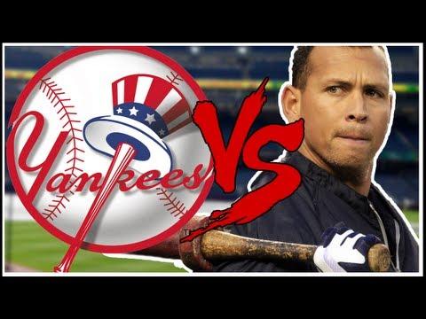 Alex Rodriguez vs Yankees