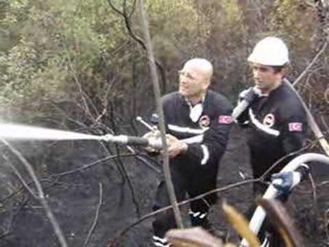 Gemlik Orman Yangını - Yeni Yüksektepe Bursa GEA