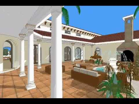 Modern hacienda   casa con hermoso patio.wmv   youtube