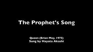Hayata Akashi - The Prophet's Song (Queen Cover) thumbnail