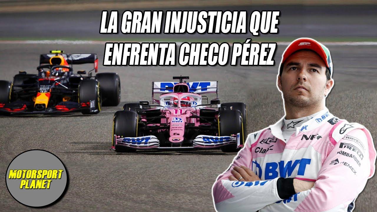 La GRAN INJUSTICIA que enfrenta CHECO PEREZ | Motorsport Planet