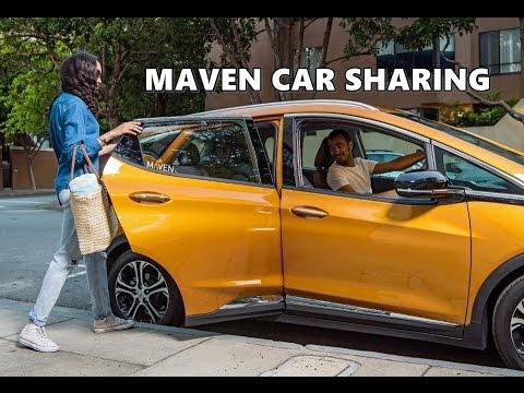Maven Car Sharing Service Demo (New York City)