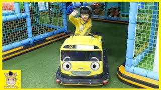 Indoor Playground Family Fun Play Area for kids playing & Baby Nursery Rhymes Song