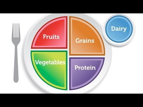 Food Pyramid Replaced by MyPlate; USDA and First Lady Michelle ...