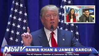 FNN: Latino Community Takes on Donald Trump After Racist Comments