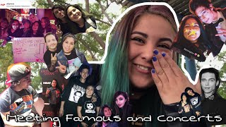 Meeting Famous & Experience In Concerts (I met Andy Black and Travis Mills) || Jazmin Ruiz