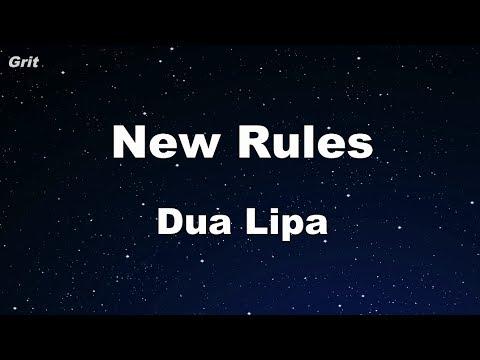 New Rules - Dua Lipa Karaoke 【With Guide Melody】 Instrumental