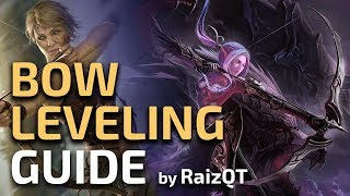 How to level with a BOW to Blood Aqueducts in 2 hours - PoE hardcore Leveling Guide