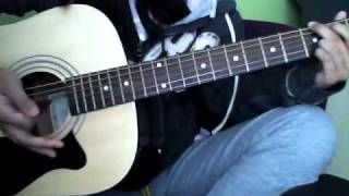 How to Play Perfect Two By Auburn On Acoustic Guitar (super easy beginner tutorial)