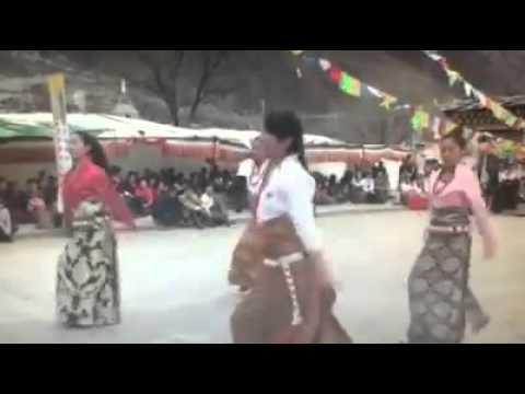 Tibetan dance 2015