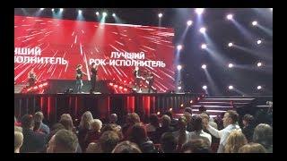Премия МУЗ-ТВ 2018 Лучший рок-исполнитель Диана Арбенина и Ночные Снайперы
