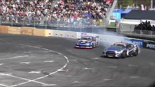 2015 D1 GRAND PRIX Rd.1 Tokyo   TANDEM D1グランプリ東京 追走決勝