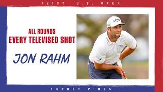 Những cú đánh của Jon Rahm tại US Open 2021