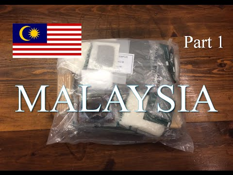 Malaysia: 24 Hour (Plus) Ration Pack ~2016 Menu B~  Part 1