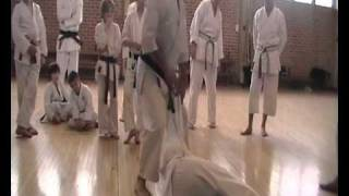 Gojushiho Sho Bunkai A throw