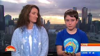 TODAY show interview with Bryce and Amy from Super Max & Bryce