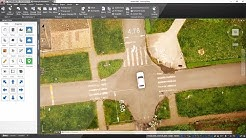 Traffic car accident reconstruction and investigation Solution
