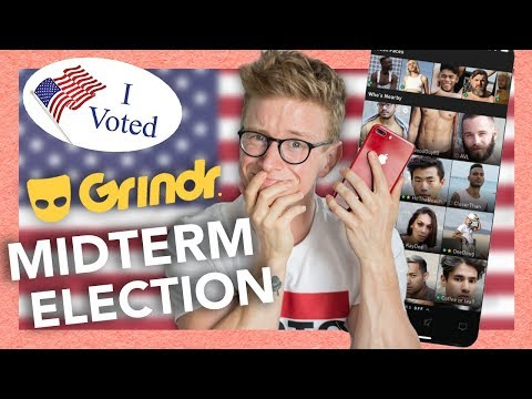CONVINCING PEOPLE ON GRINDR TO VOTE