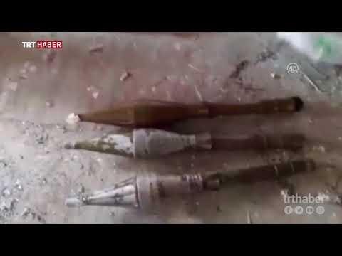 Van Erciş'te terör örgütüne yapılan operayon