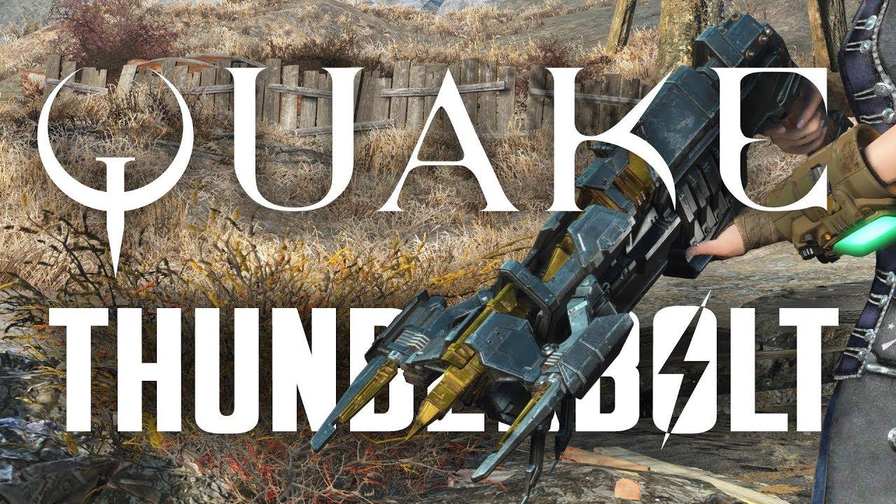 The Quake Thunderbolt: Death Match – Fallout 4 Creation Club
