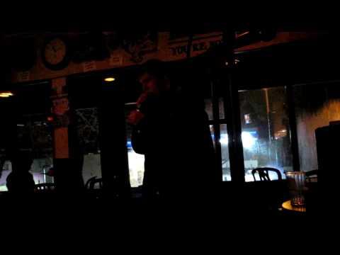 Nikki's 22nd Birthday: Axeman sings karaoke at Pine Cove