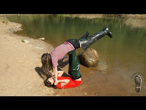 woman wearing boots barefoot from YouTube · Duration:  1 minutes 10 seconds