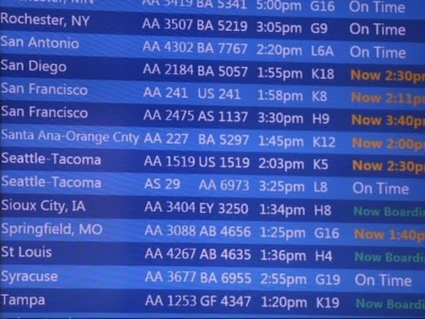 American Airlines Flights Reportedly Grounded; Computers 'Down'