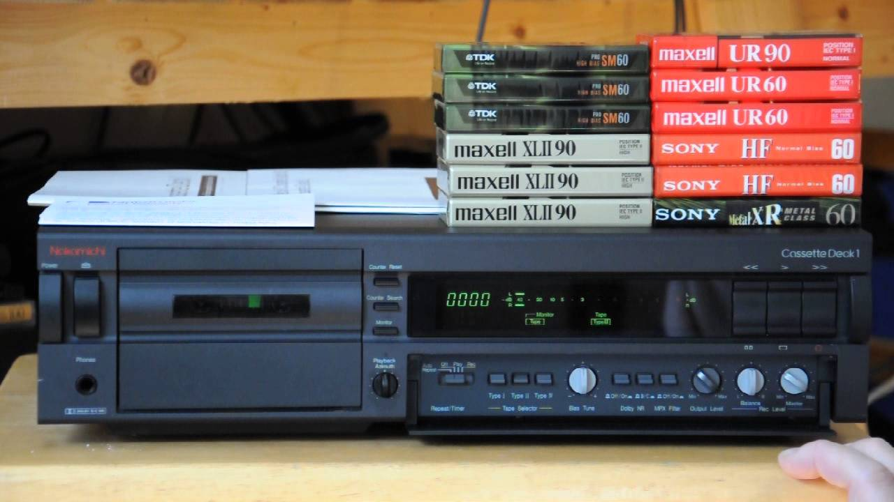 Nakamichi Cassette Deck One Demo