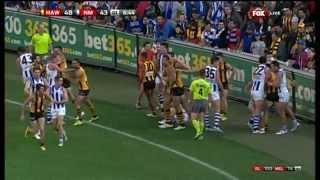 Round 5 AFL  Hawthorn v North Melbourne Highlights