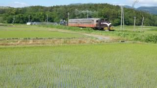 津軽鉄道 津軽中里-深郷田 2016年青森函館DC 混合列車