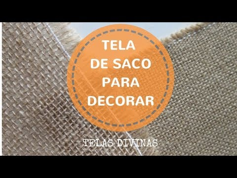 Tela De Saco Para Decorar Descubre Mil Ideas Youtube