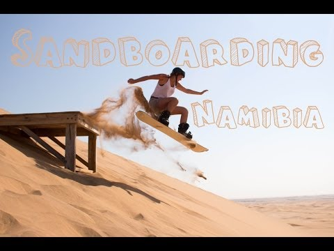 Sandboarding, Namibia in Swakopmund