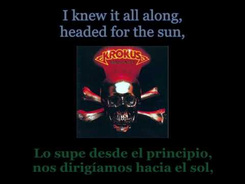 Krokus - Screaming In The Night - Lyrics / Subtitulos en español (Nwobhm) Traducida