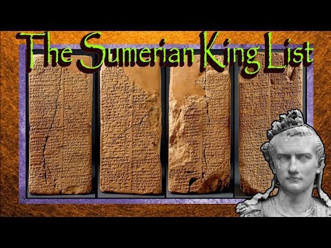 The Sumerian king list  WeldBlundell prism