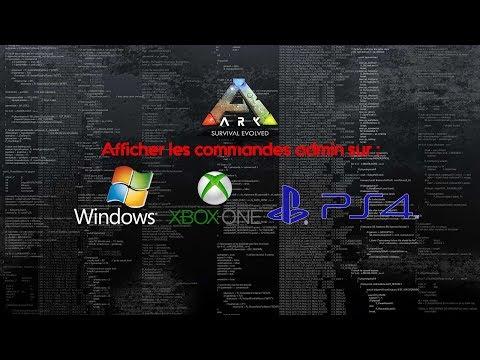 Ark Admin Site Pour Les Admins Sur Ark Survival Evolved Et