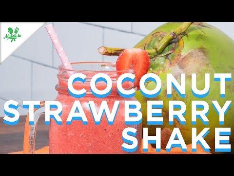 Resep Coconut Strawberry Shake