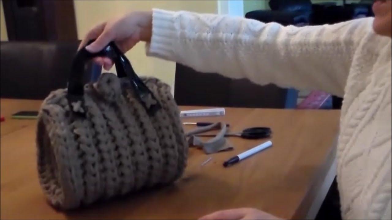 How To Fashion Wieder Eine Tasche Häkeln Youtube
