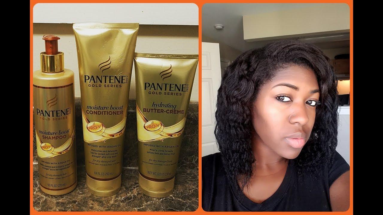 is pantene gold series for black hair