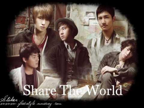 Tohoshinki Share The World