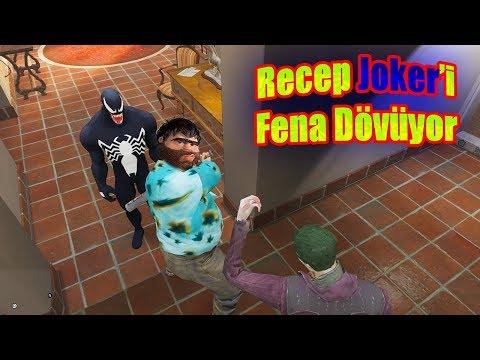 Recep İvedik'in Arabalarını Çalan Joker Ve Venom Recep İvedik'ten Beyzbol Sopasıyla Çok Fena  Dayak